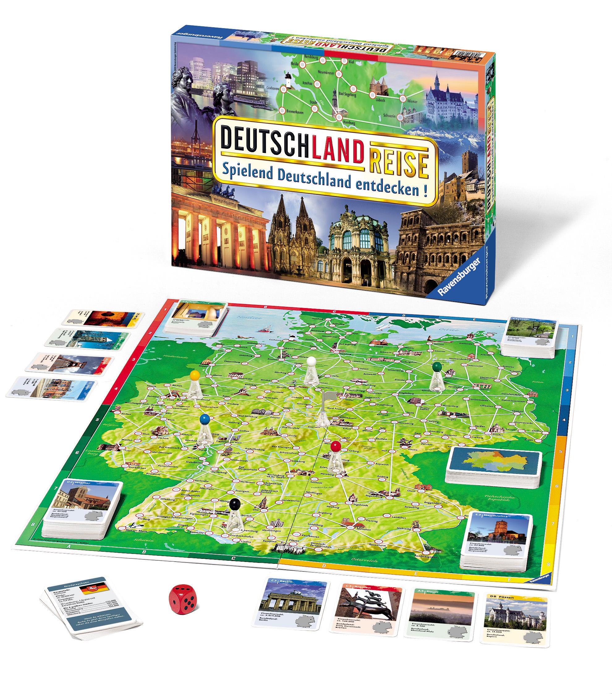 Deutschland kennenlernen spiel