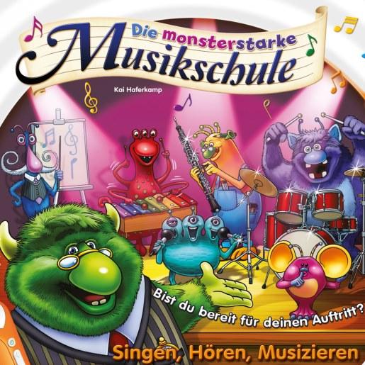 Mit der Monster-Band für den Musik-Auftritt proben